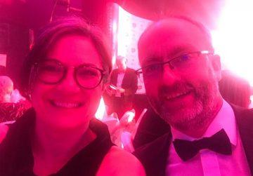 Michelle & Gareth @ the awards